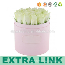 Flower Packaging Box Small Printed Thin Paper Beautiful Printing